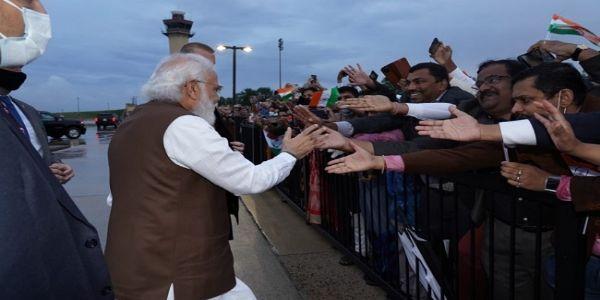 PM Narendra Modi arrived in US